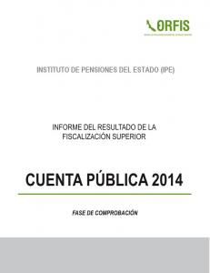 INSTITUTO DE PENSIONES DEL ESTADO (IPE)