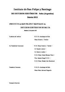 Instituto de San Felipe y Santiago