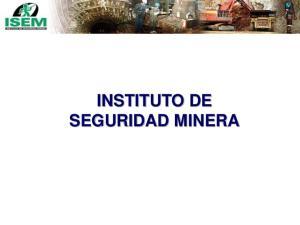 INSTITUTO DE SEGURIDAD MINERA