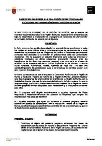 INSTITUTO DE TURISMO