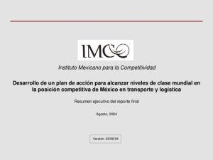 Instituto Mexicano para la Competitividad