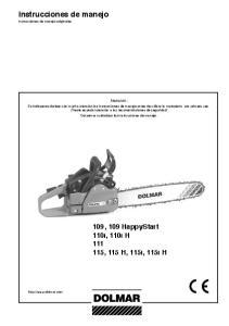 Instrucciones de manejo Instrucciones de manejo originales