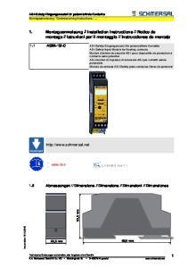 Instrucciones de montaje