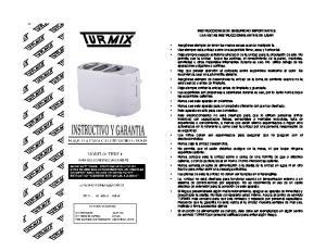 INSTRUCCIONES DE SEGURIDAD IMPORTANTES LEA ESTAS INSTRUCCIONES ANTES DE USAR