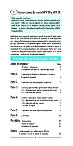 Instrucciones de uso de MPW 20 y MPW 30