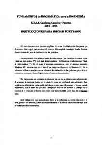 INSTRUCCIONES PARA INICIAR FORTRAN90