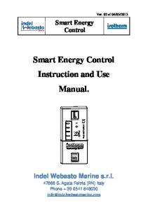 Instruction and Use Manual