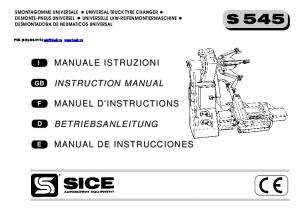 INSTRUCTION MANUAL BETRIEBSANLEITUNG MANUALE ISTRUZIONI MANUEL D'INSTRUCTIONS MANUAL DE INSTRUCCIONES