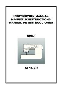 INSTRUCTION MANUAL MANUEL D'INSTRUCTIONS MANUAL DE INSTRUCCIONES
