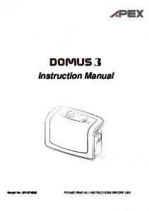 Instruction Manual Model No.: 9P