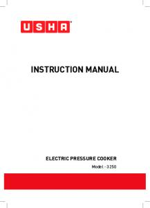 Instruction Manual. Model