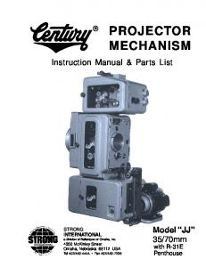 Instruction Manual & Parts List