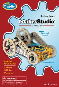 Instructions. Gears Set YOU CAN ALSO MAKE: 3-Wheeler Cable Car Motorcycle. Rubber Band Powered! Macaroni Racecar AGES 7 TO ADULT 1