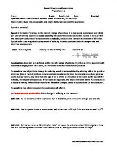 Instructions: study the paragraphs and charts below and answer the questions