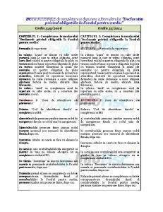 INSTRUCTIUNILE de completare si depunere a formularului