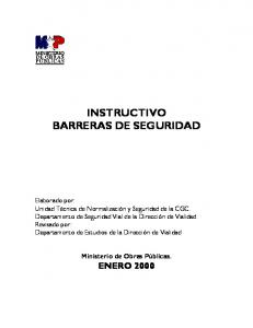INSTRUCTIVO BARRERAS DE SEGURIDAD