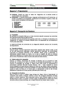 INSTRUCTIVO DE ESCOLTAS
