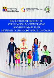 INSTRUCTIVO DEL PROCESO DE
