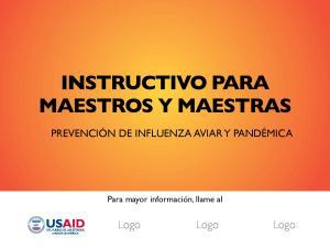 INSTRUCTIVO PARA MAESTROS Y MAESTRAS
