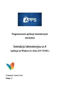 Instrukcja laboratoryjna cz.4