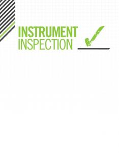 Instrument Inspection