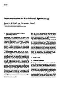 Instrumentation for Far-infrared Spectroscopy