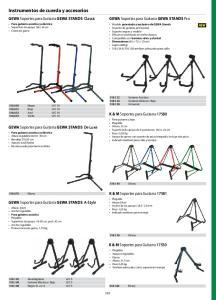 Instrumentos de cuerda y accesorios