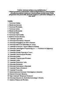 Instytucje naukowe i badawcze: