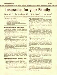 Insurance for your Family