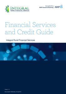 Integral Rural Financial Services