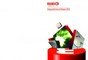 Integrated Annual Report 2013