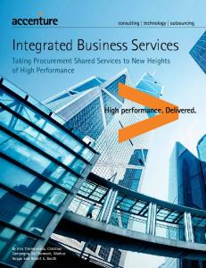 Integrated Business Services