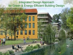 Integrated Design Approach for Green & Energy-Efficient Building Design