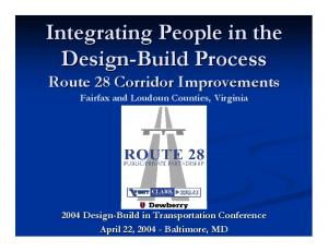 Integrating People in the Design-Build Process