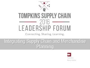 Integrating Supply Chain and Merchandise Planning