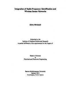 Integration of Radio Frequency Identification and Wireless Sensor Networks