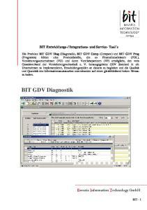 Integrations- und Service- Tool s