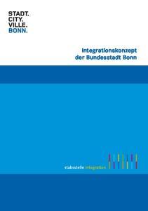 Integrationskonzept der Bundesstadt Bonn