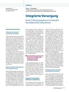 Integrierte Versorgung