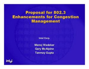 Intel Corp. Manoj Wadekar Gary McAlpine Tanmay Gupta