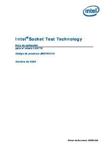 Intel Socket Test Technology