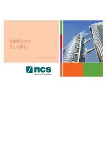 Intelligent Building. 0 Brochure