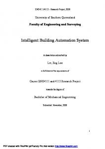 Intelligent Building Automation System