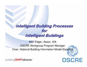 Intelligent Building Processes for Intelligent Buildings