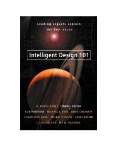 Intelligent Design 101 H. WAYNE HOUSE