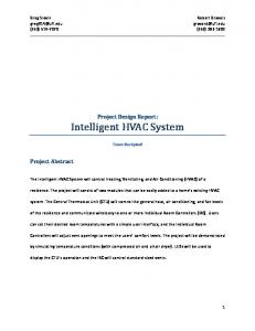 Intelligent HVAC System