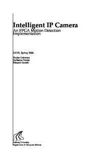 Intelligent IP Camera