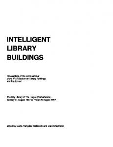 INTELLIGENT LIBRARY BUILDINGS