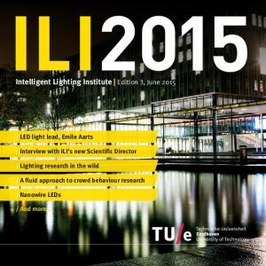 Intelligent Lighting Institute Edition 3, June 2015