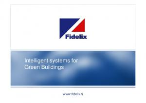 Intelligent systems for Green Buildings
